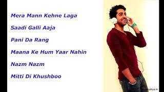 best of ayushman khurana songsrp entertainment