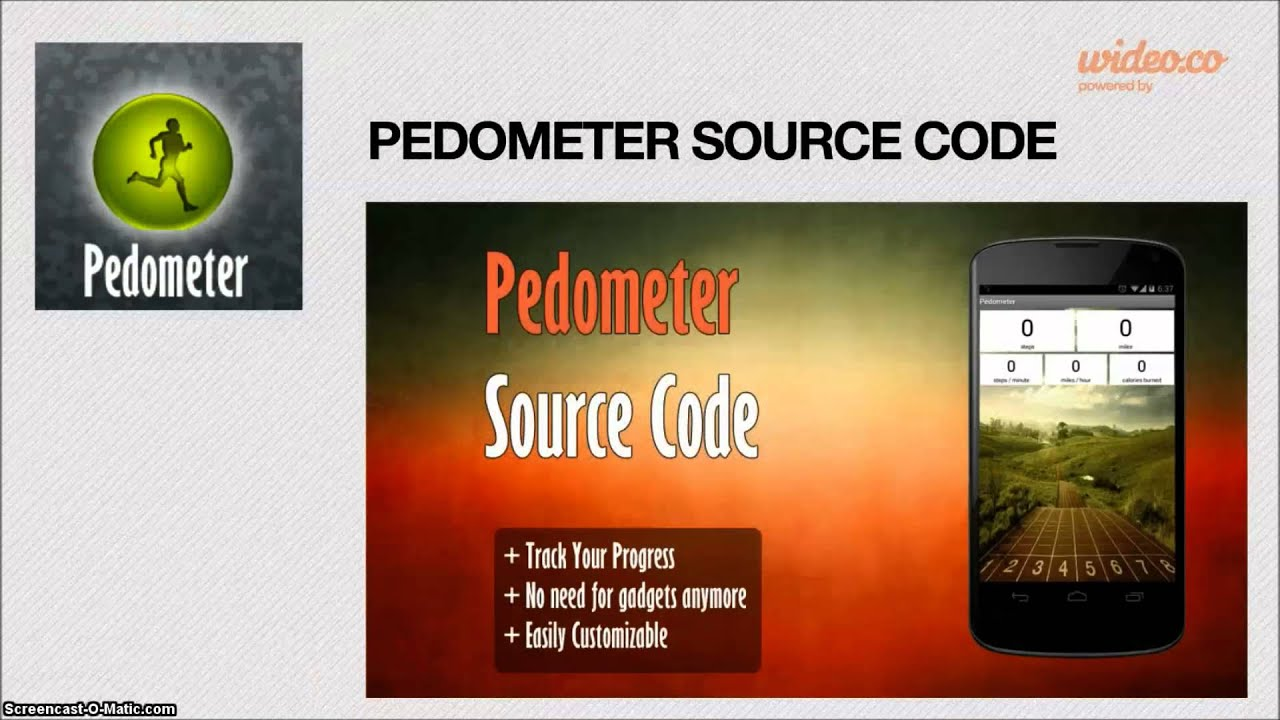 pedometer android app source code