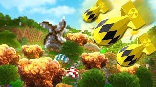 2VS2 Nuclear Tech Battledome *NUKE Mod* - Minecraft Modded Minigame