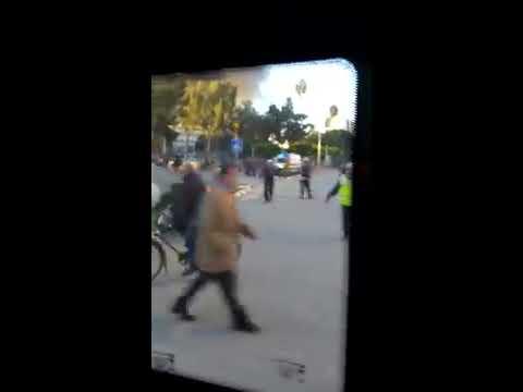 Adana valilik patlama anı !