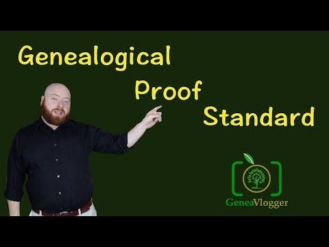 Genealogical Proof Standard (Quick Genealogy Tip #26)