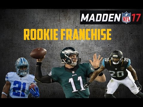 Madden 17 Franchise | All Rookie Team