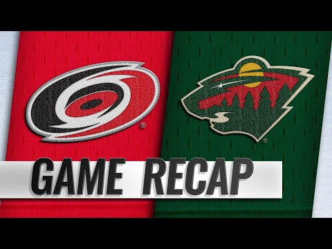 Aho, Williams lead Canes past Wild in OT thriller