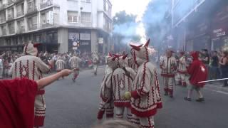 Festa Major de Sabadell 2014 - Cercavila Colles de Diables