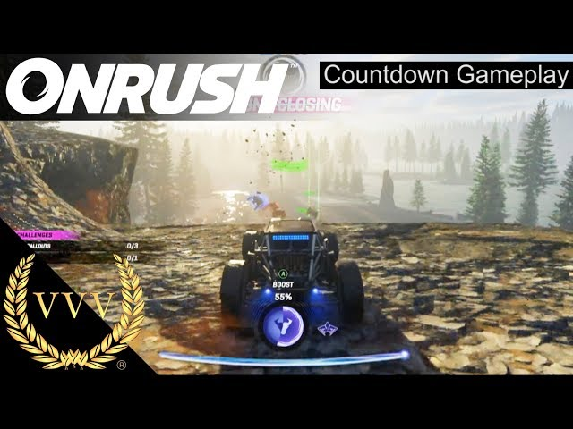 ONRUSH | Xbox One X Preview | Countdown Mode