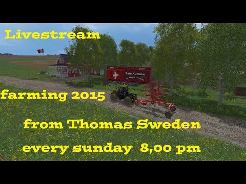 Livestream from Thomas Sweden