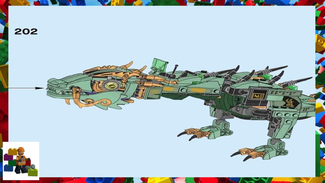 Lego Instructions The Lego Ninjago Movie 70612 Green Ninja