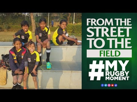 From the street to the field | #MyRugbyMoment