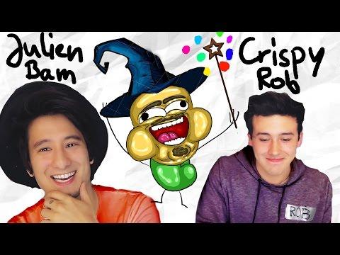 Die ZAUBERHAFTE Julien Bam CHALLENGE mit CrispyRob