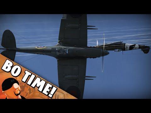 "War Thunder - Spitfire Mk Vc ""The Scrappy Brit!"""