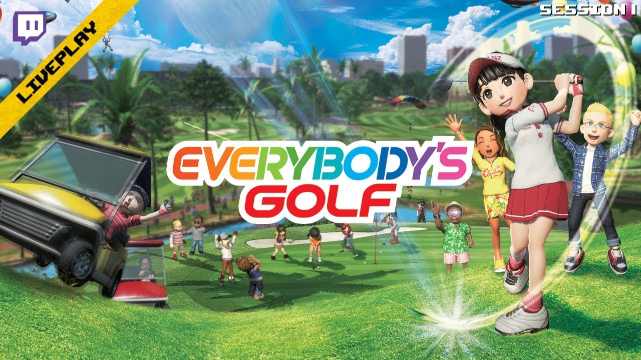 Twitch][LivePlay] Every's Golf (PS4)(Session 1) - YouTube on