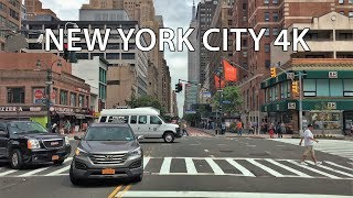 Driving Downtown 4K - NYC's Famous Skyscraper - New York City USA