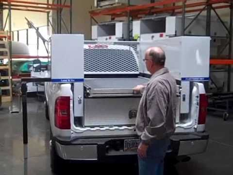 & Loadu0027Nu0027Go - Pickup Truck Tool Box - YouTube