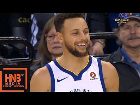 Golden State Warriors vs New York Knicks 1st Half Highlights / Jan 23 / 2017-18 NBA Season