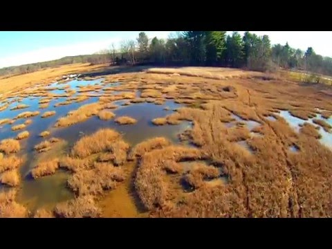 Dust In the Wind - Kansas; Drone Flight over Newfields, New Hampshire