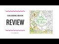 Bold Springtime to Color Coloring Book Review - Eleri Fowler