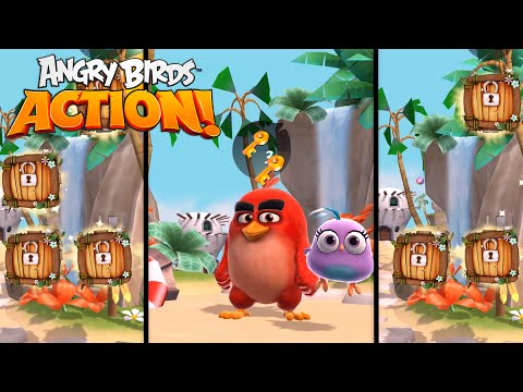 Angry Birds Action! - Hatchlings Movie Magic (DVD/Blu-Ray)