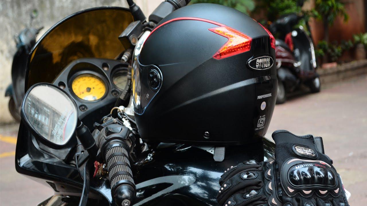 Studds Shifter Helmet Review Youtube: STUDDS PROFESSIONAL FULL FACE HELMET REVIEW