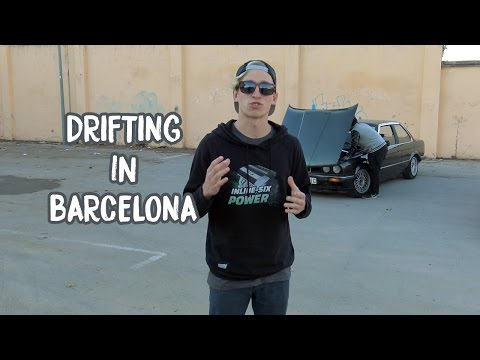 Drifting in Barcelona