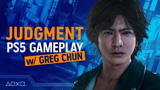 Judgment - PS5 Gameplay With Greg Chun!