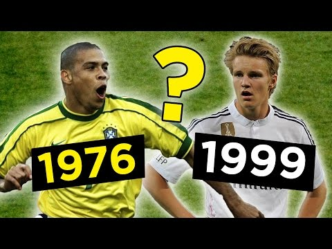 The Best Footballer Born In Every Year From 1970-2000