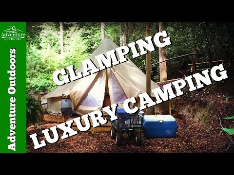 Glamping ~ Glamorous Camping In The Mountains Of Hendersonville, NC