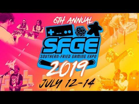 Southern-Fried Gaming Expo 2019 - July 12-14 (ATLANTA , GA)