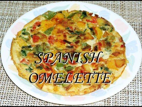 Delicious Spanish Omelette/Kids Recipe --: From Shresth Kitchen :--