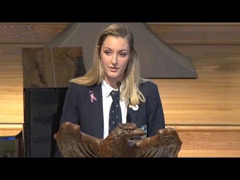 Margot Herbert - Chapel Speech, May 31, 2017