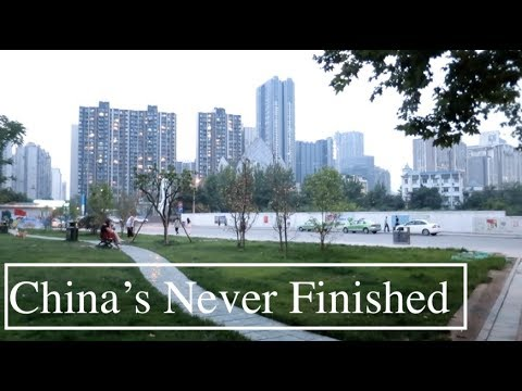 Park Built OVERNIGHT in Chengdu | Rapid Construction & Development in China | China's Never Finished