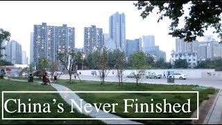 Park Built OVERNIGHT in Chengdu   Rapid Construction & Development in China   China's Never Finished
