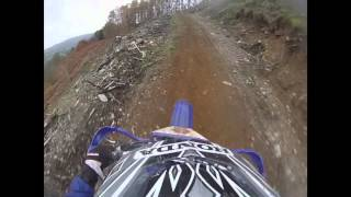 Sam Brown WOR Enduro, llandrillo forest