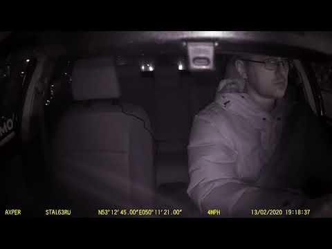 Видеорегистратор Axper DUO - ночная съёмка, FullHD, тыловая камера, ИК-подсветка