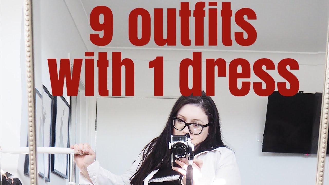 One dress 9 ways   Elegance Of She