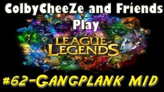 League of Legends - Gangplank Mid vs Ahri - Colby and Friends Play #62 thumbnail