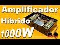 Amplificador estéreo de 1000 Watts