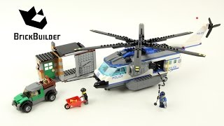 Lego City 60046 Helicopter Surveillance - Lego Speed Build