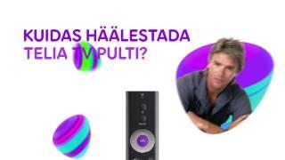 Telia TV Pult: Kuidas Häälestada?