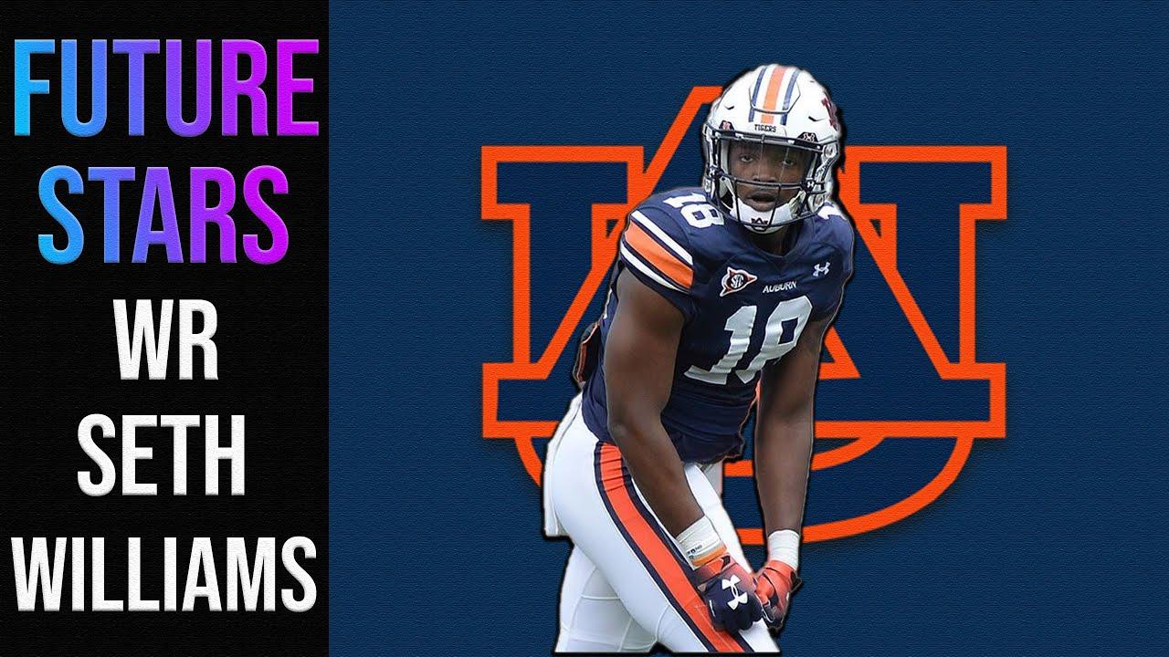 Seth Williams | WR | Auburn | 2020 CFB Future Stars
