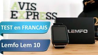 Lemfo Lem 10 - Test d'une smartwatch 4G qui mise sur l'interactivité plus que le sport