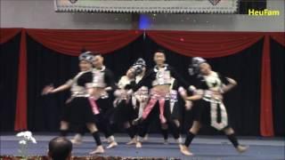Merced Hmong New Year 2016 - 2017: Dance Comp Rd 1 - Tub Nyiaj Ntxhais Kub