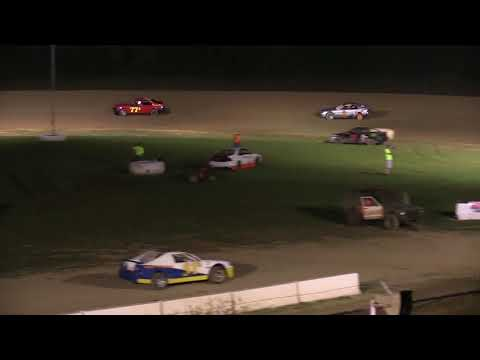 Muskingum County Speedway 4 Cylinder Feature 8-4-18