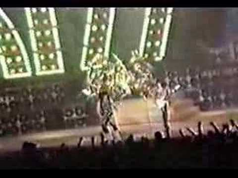 Kiss - Wont Get Fooled Again(Live In Forth Worth,Texas 1986)