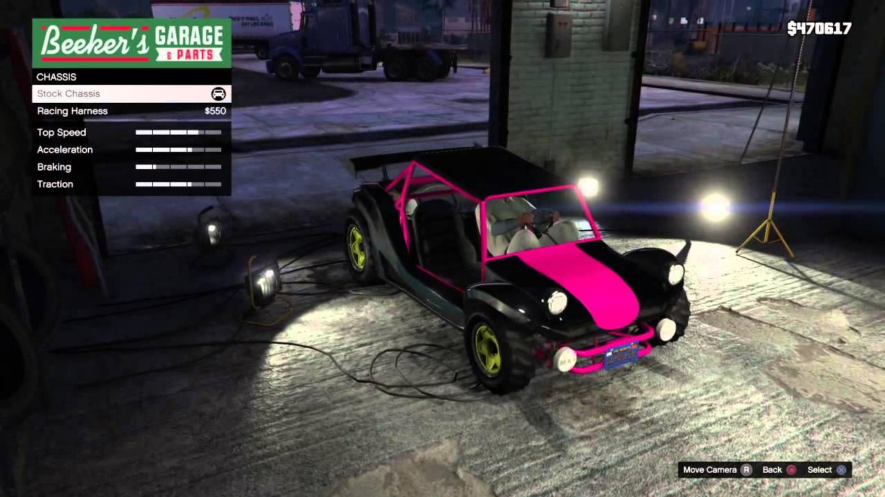 GTA V Online - The Unaffiliated Chrome & Hot Pink Bifta *HD