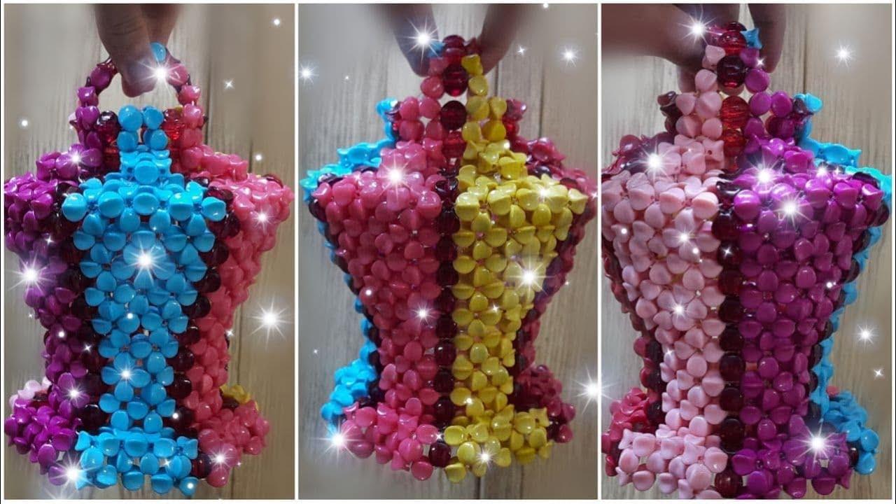 فانوس الوان الطيف العرض التشويقي والورشة كاملة رمضان 2021 The Rainbow Fanous in beads