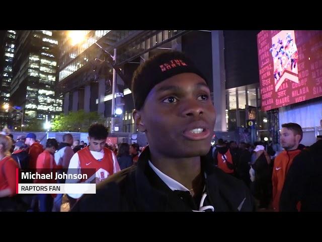 af96d45c70b Shock sets in for Raptors fans after Game 5 loss | The Star