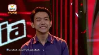The Voice Cambodia - គ្រឿន នភាល័យ -  When i was your man - 31 Aug 2014