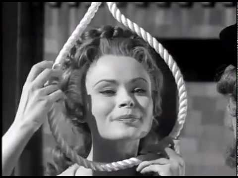 A Wig for Miss DeVore - Boris Karloff's B&W thriller