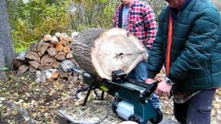 Yardworks 4 ton Log splitter