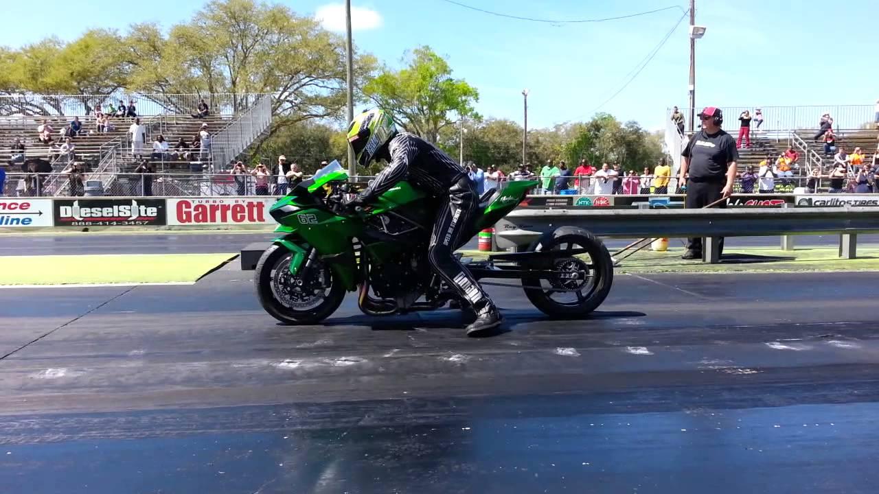 Rickey Gadson At Osw Bike Bash On His H2 H2r Hybrid Youtube
